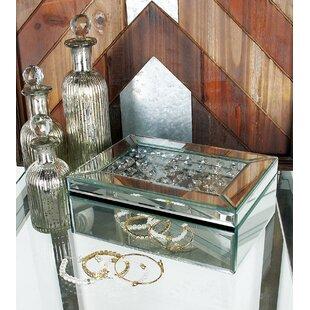 Price Check 10 Wood Mirror Jewelry Box ByCole & Grey