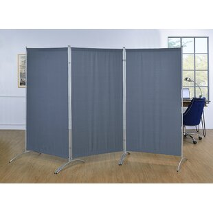 Jimena Indoor 3 Panel Room Divider By Symple Stuff
