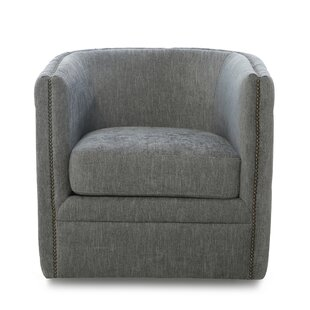 Dardar Swivel Barrel Chair by Darby Home Co