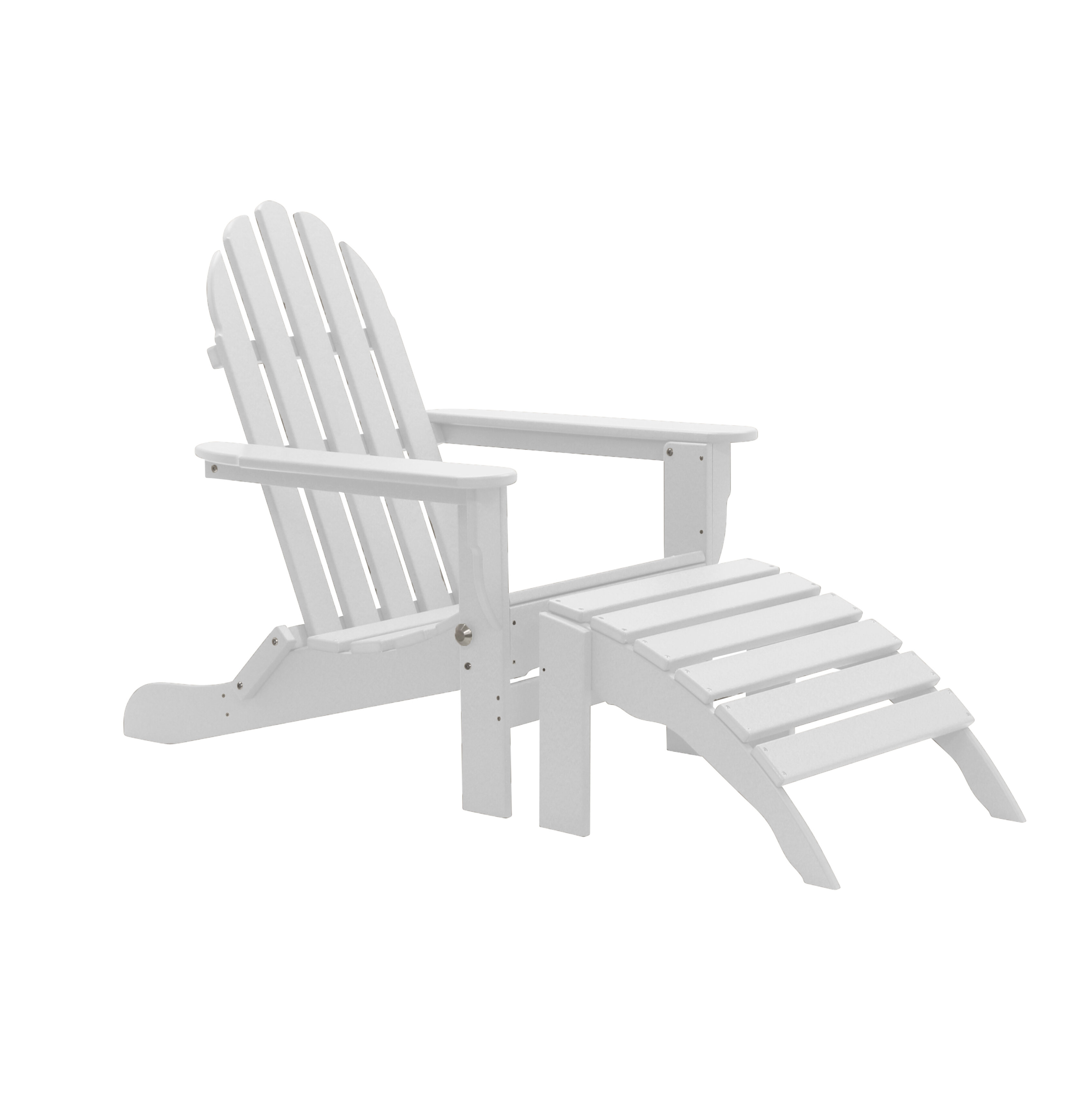 Rosecliff Heights Gorge Plastic Folding Adirondack Chair