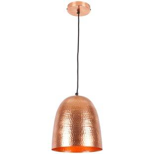 Mistana Feemster 1-Light Bell Pendant