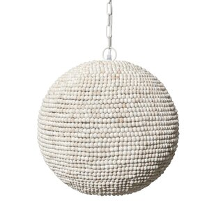 Magruder 1-Light Globe Pendant by Bungalow Rose