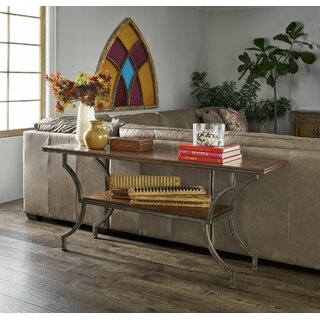 "Ganey 72"" Console Table by Canora Grey SKU:DA286195 Details"