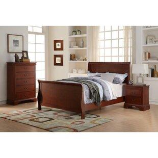 Charlton Home Rourke Convenient Sleigh Bed