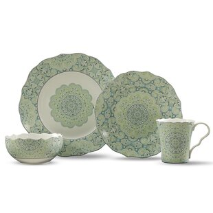 Lyria 16 Piece Dinnerware Set, Service for 4