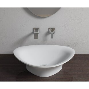 Read Reviews Stone Specialty Vessel Bathroom Sink By InFurniture