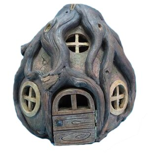 Fairy Garden Stone House with Roots by Hi-Line Gift Ltd.