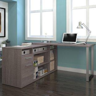 Mercury Row Alves L-Shaped Executive Desk