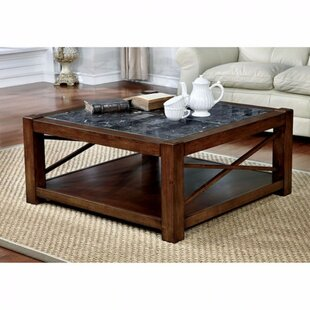 Emig Square Coffee Table with Storage