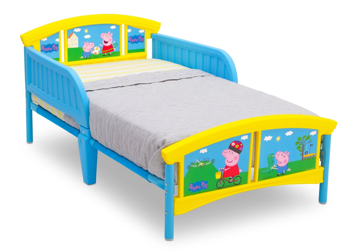Peppa Pig Plastic Toddler Platform Bed