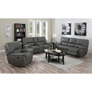 Harris Reclining 3 Piece Living Room Set Coja