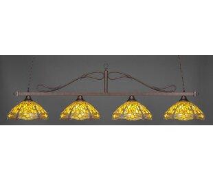 Fleur De Lis Living Reba 4-Light Billiard Pendant