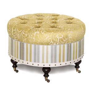Wakefield Round Ottoman by Eastern Accents