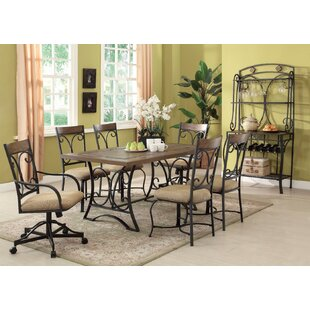 Cuccia Scrollwork Stand Dining Table Fleur De Lis Living