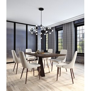 Bruck Contemporary 7 Piece Dining Set by Brayden..