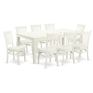 Beesley 9 Piece Solid Wood Dining Set by Darby Home Co New