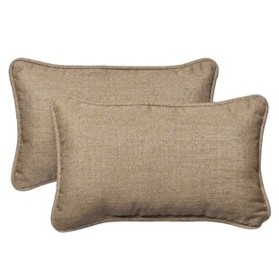Outdoor Sunbrella Lumbar Pillow (Set of 2)