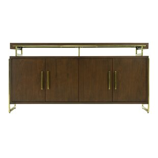 Cunningham 4 Door Accent Cabinet by Brayden Studio