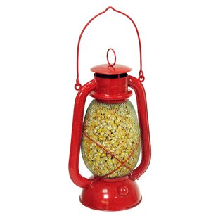 Outside Inside Mesh Lantern Decorative Bird Feeder