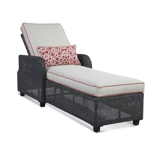 Tangier Reclining Chaise Lounge with Cushion by Braxton Culler