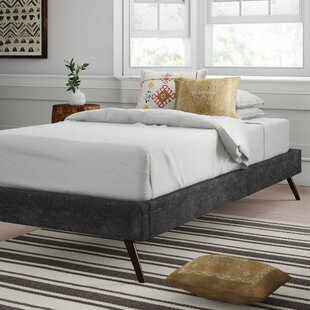 Compare Zutphen Upholstered Platform Bed by Mistana Reviews (2019) & Buyer's Guide