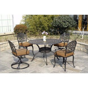 Merlyn 5 Piece Patio Dining Set