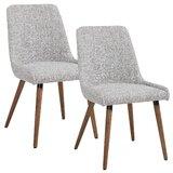 Webber Upholstered Dining Chair (Set of 2) by Brayden Studio®