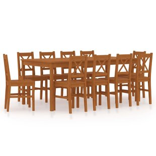 Grimm Dining Set With 10 Chairs By Gracie Oaks