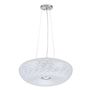 Aspen Creative Corporation 1-Light LED Geometric Pendant