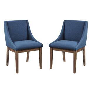 Compare & Buy William Upholstered Dining Chair (Set of 2) by Langley Street Reviews (2019) & Buyer's Guide