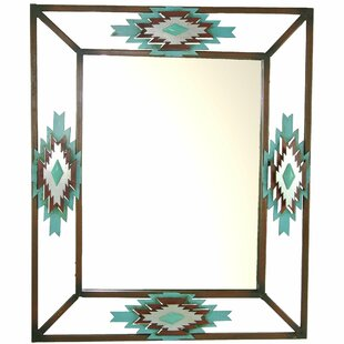 Affordable Southwest Wall Mirror By De Leon Collections