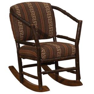 Fireside Lodge Hickory Hoop Rocking Chair