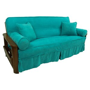 Box Cushion Futon Slipcover Se..