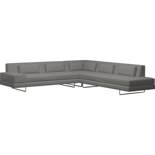 Read Reviews Hamlin Sectional by TrueModern Reviews (2019) & Buyer's Guide