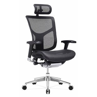 Symple Stuff XL Luxury Series Ergonomic Mesh Executive Chair