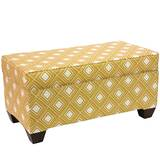 Pabst Linen Upholstered Storage Bench