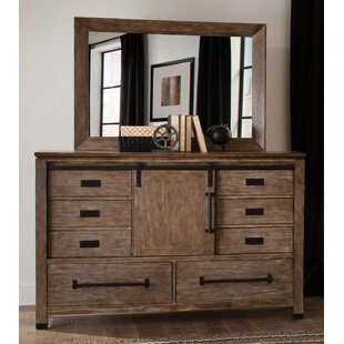 Stimpson 8 Drawer Double Dresser
