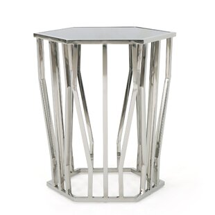 Neven Modern End Table by Orren Ellis