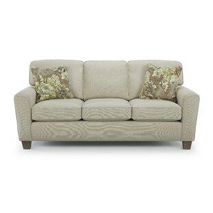 Kaylin Beveled Arm Standard Sofa by Alcott Hill