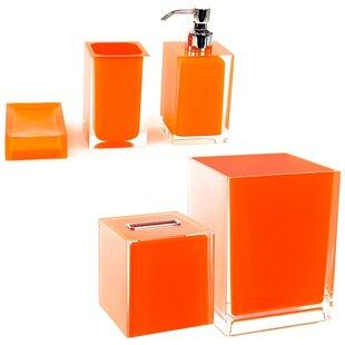 Tous accessoires salle de bain: Finition - Orange | Wayfair.ca