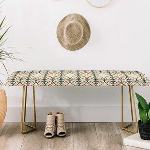 Marta Barragan Camarasa Mosaic Art Upholstered Bench