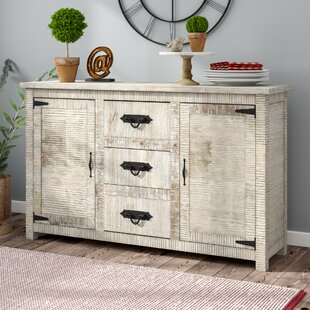 Virgile 2 Door, 3 Drawer Sideboard by Laurel Foundry Modern Farmhouse