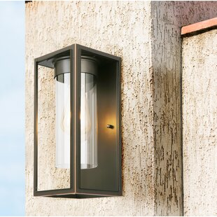 Polak LED Outdoor Flush Mount by Loon Peak Great Reviews