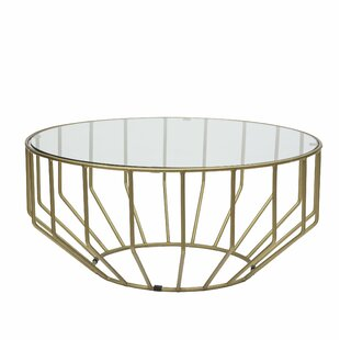 Singer Glass Round Coffee Table
