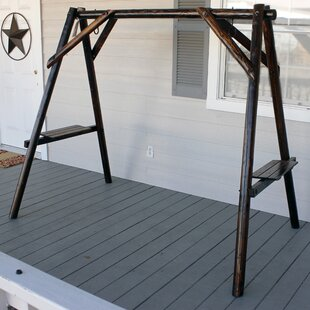 Leigh Country Char-Log Porch Swing Stand