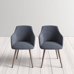 Awe Inspiring Brie Solid Wood Upholstered Dining Chair Set Of 2 Inzonedesignstudio Interior Chair Design Inzonedesignstudiocom
