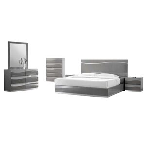 Moumoune Platform 5 Piece Bedroom Set