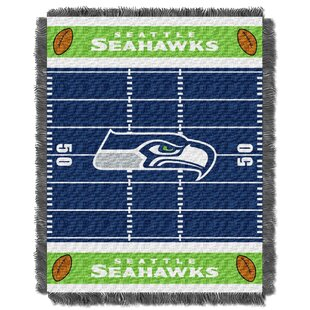 Inexpensive NFL Seahawks Field Baby Blanket By Northwest Co.