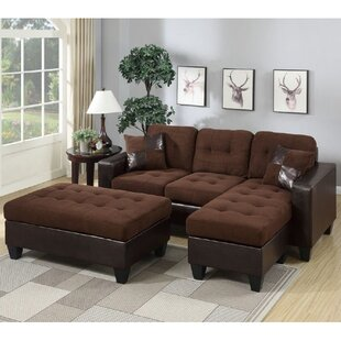 Glosco Reversible Sectional by Latitude Run Amazing