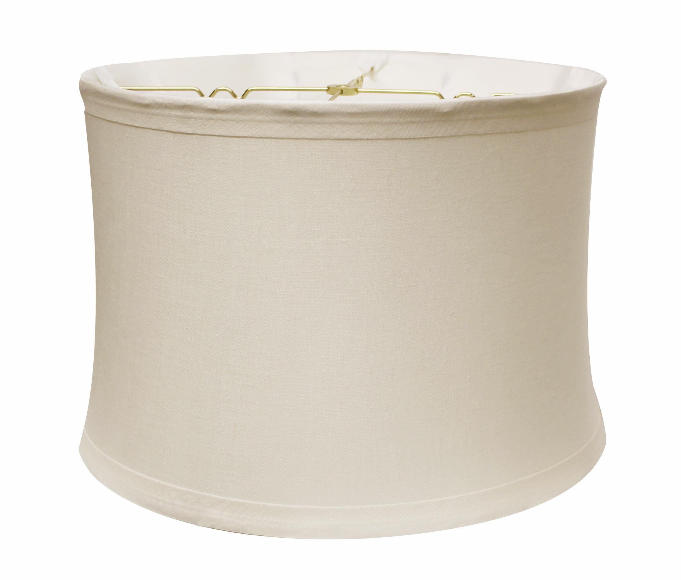 Winston Porter 11 H Linen Drum Lamp Shade Spider Wayfair